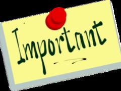 Grant Forum Info, Note Date Change!