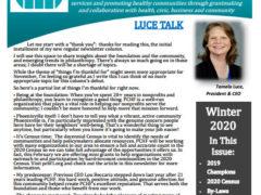 2020 Winter Newsletter
